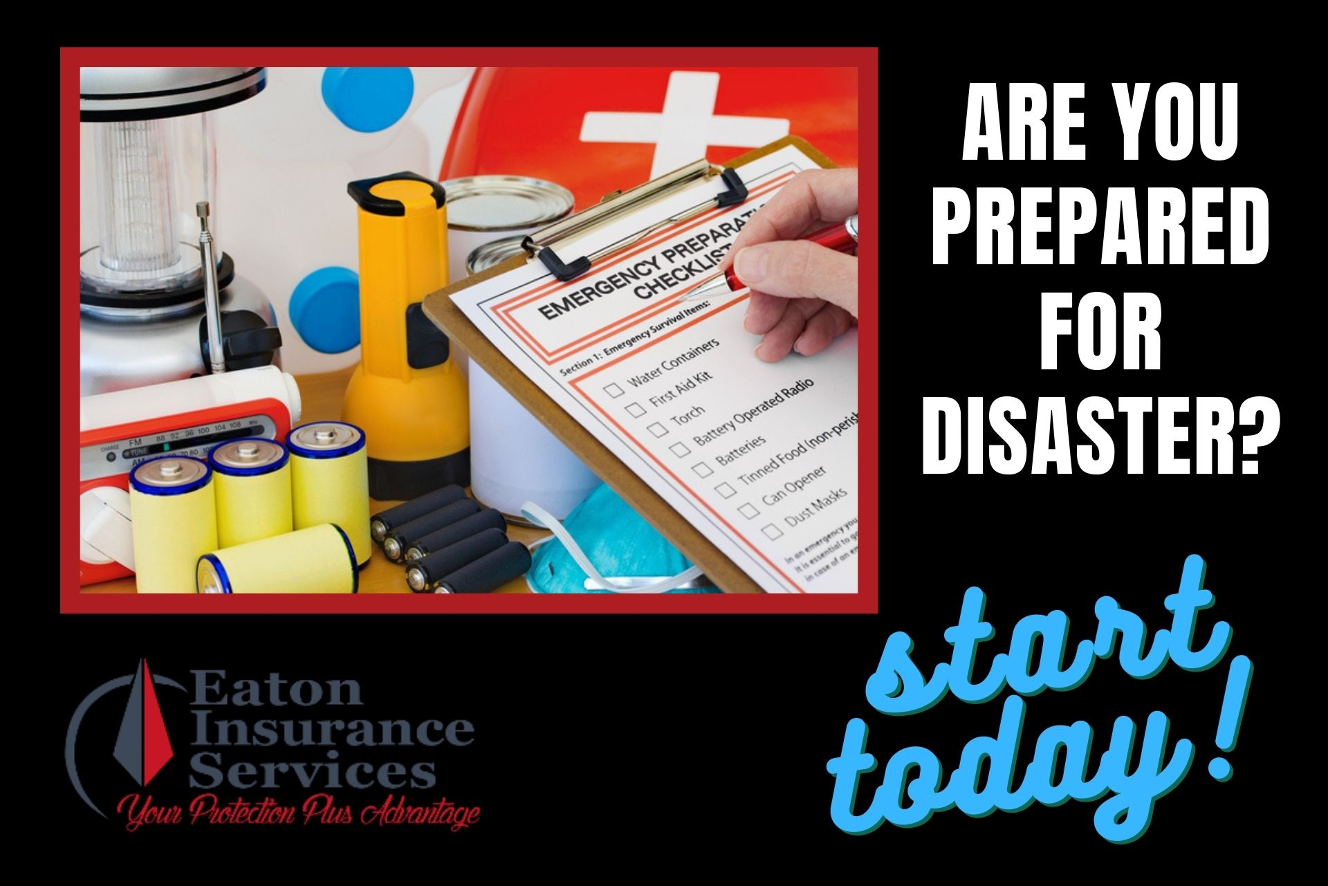 September National Preparedness Month, home insurance, Clio Michigan, Eaton Insurance
